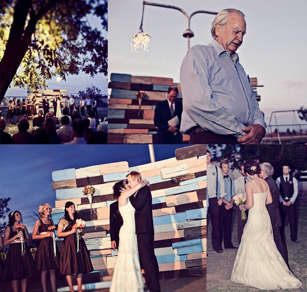 Jodiee S Blog Wedding Ceremony Table: Hunter And Kirsten's Wedding