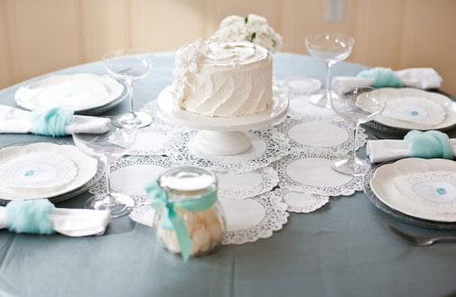 cake wedding centerpiece