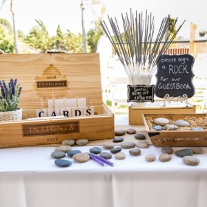 creative wedding guest books feature