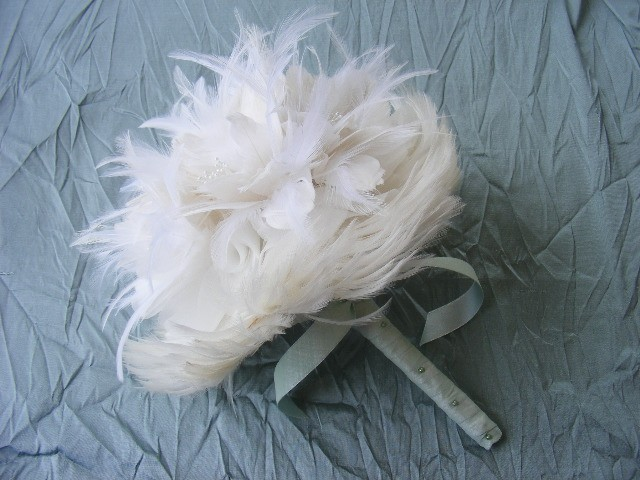 15 Non Floral Bouquets Feathers Wheat Sola Flowers Etc