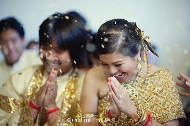 Reception Ceremony For The First Shipment Of Cambodian: Traditional Cambodian Wedding + American Reception