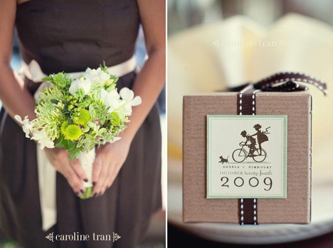 kraft box for wedding reception