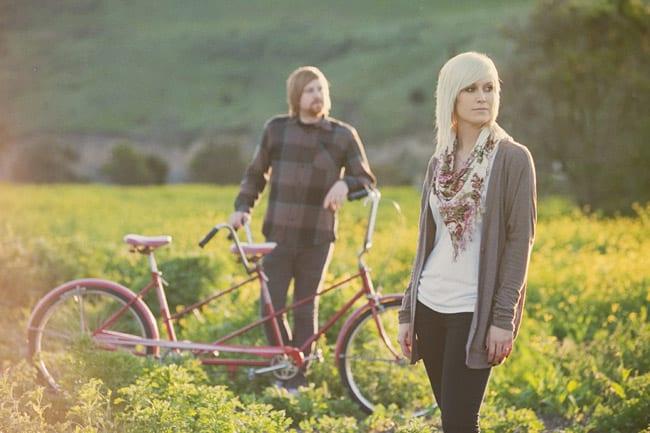tandem bike photo shoot