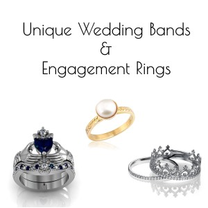 unique rings – wedding bands engagement rings
