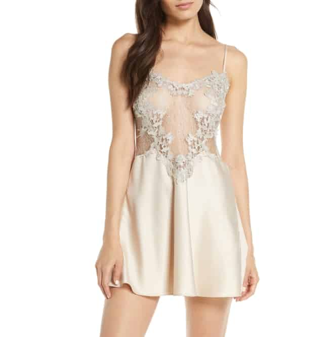 Chemise lingerie for honeymoon outfit essentials