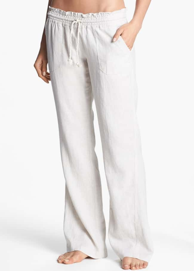 Linen pants honeymoon outfit essentials