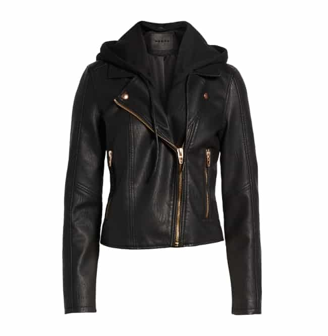 Moto Jacket Honeymoon travel essential