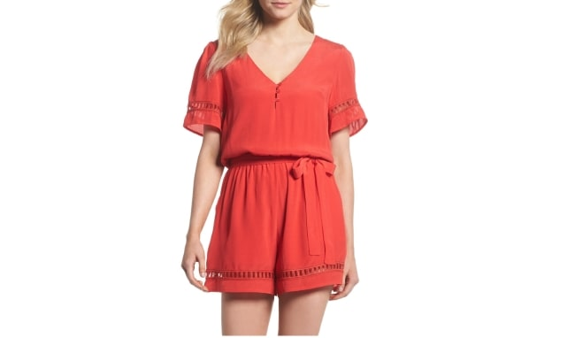 Romper for honeymoon essentials