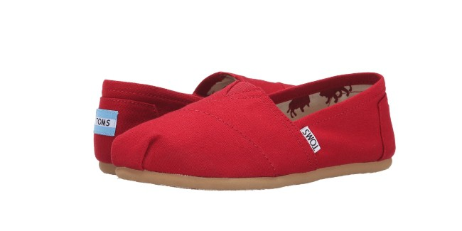 TOMS Classics for essential honyemoon travel