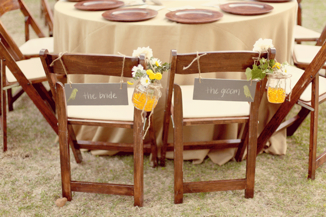 Yellow and Grey Wedding at Umlauf Sculpture Garden