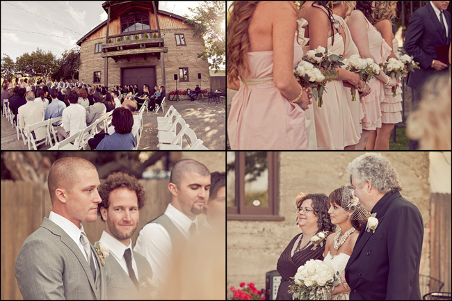 California vineyard wedding ceremony outdoor photos at Murrieta's Well