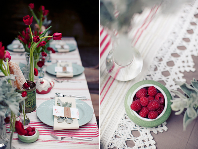 bowl of raspberries for amelie wedding inspiration at Sand Rock Farm