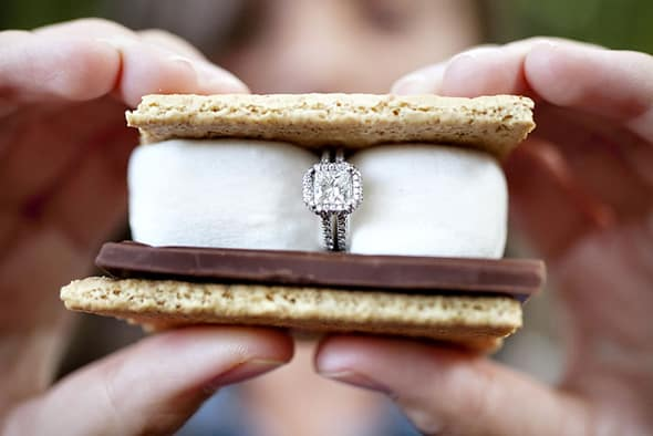 smore engagement ring pic
