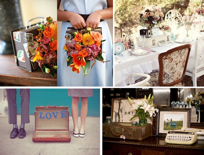 Travel wedding inspiration - Decoration table mariage theme voyage ...