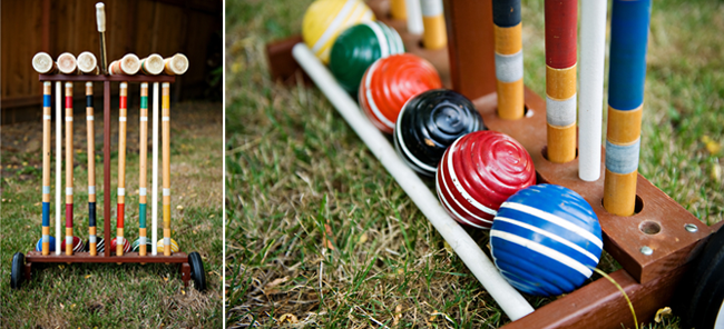 croquet game ready to play