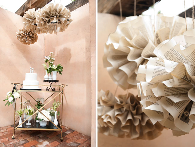 Inspired by Book Pages – Paper Mache Chandelier