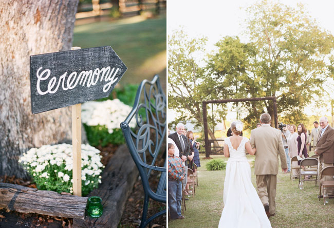 Alabama Farm Wedding Ceremony