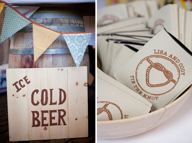 "wood sign ""Ice Cold Beer"""