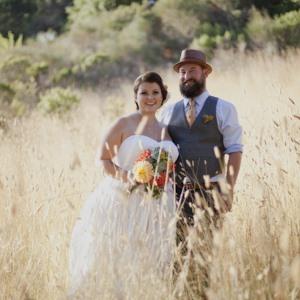 rancho wikiup wedding couple