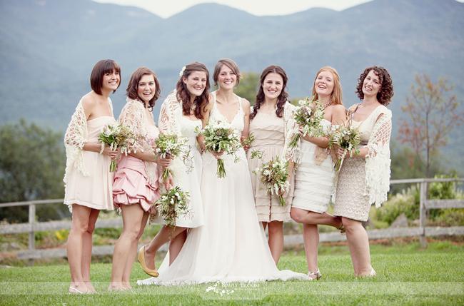 Bridesmaids Shawls