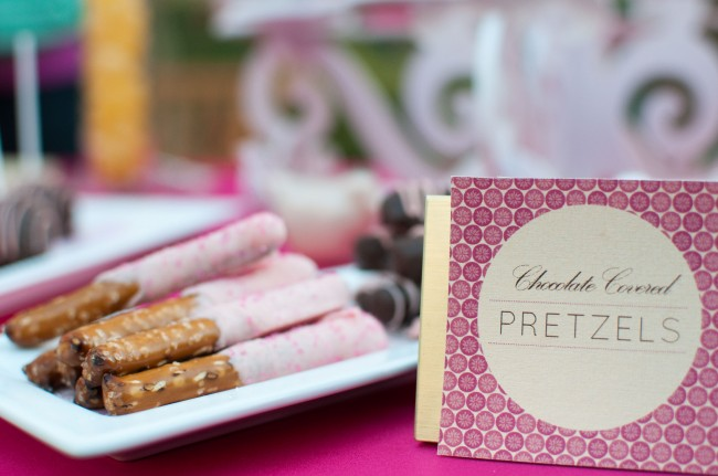 wedding pretzel card
