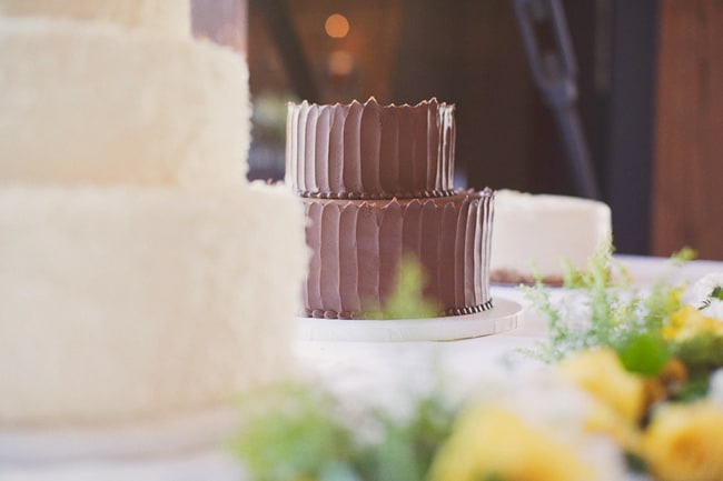 yummy looking chocolate wedding cake