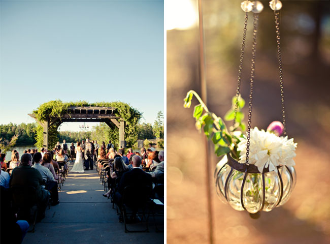 wedding ceremony at Colonel Francis Beatty Park