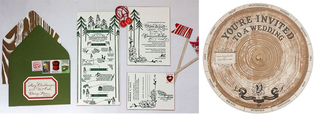 Camping Wedding Invitations: Camping Inspiration