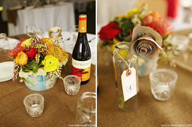 table setting DIY details
