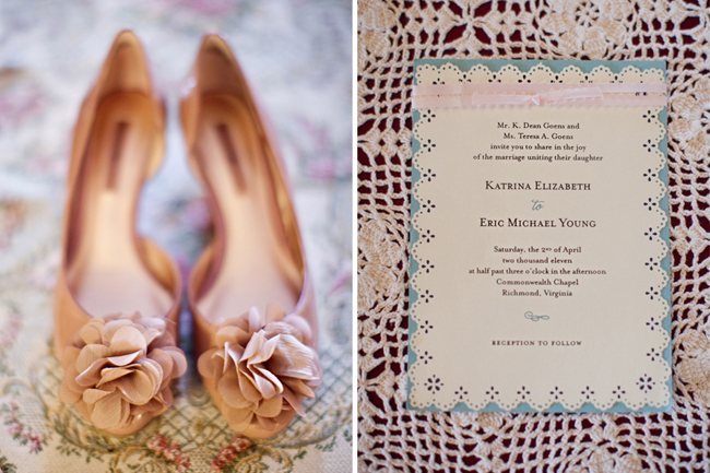 vintage lace themed invitation for wedding at Ashland Berry Farm