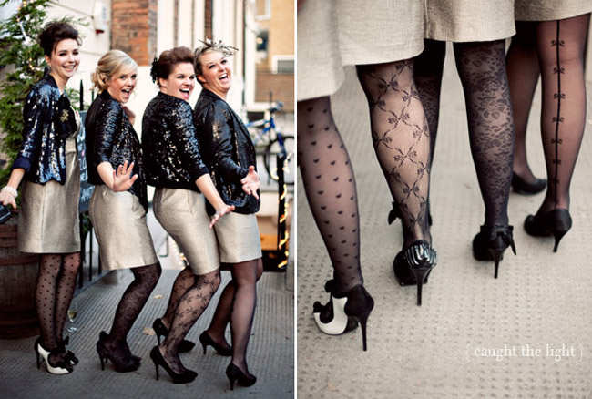 Bridesmaids In Tights