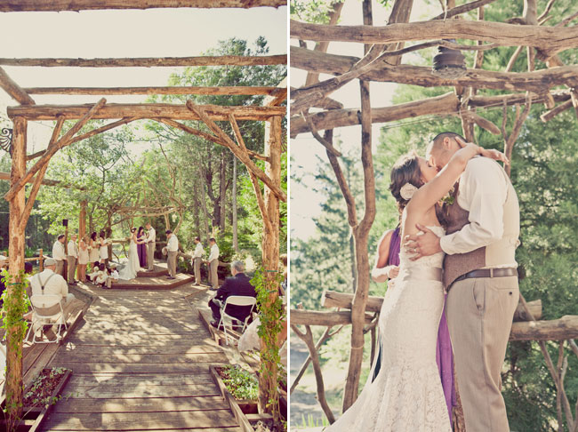 Classic and Beautiful Outdoor Wedding Ceremony