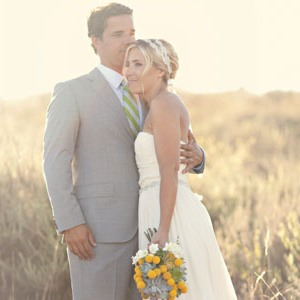Coastal California wedding with billy balls