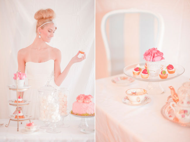 Pink Tea Party Styled Shoot