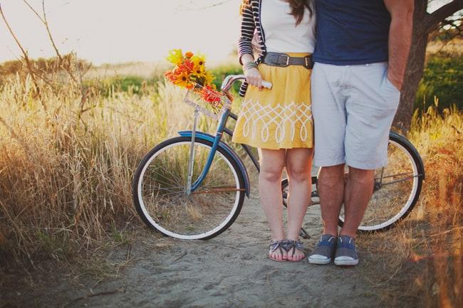 josh ellen with cute bike