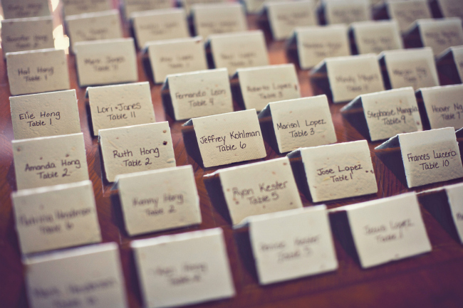 handwritten paper table numbers