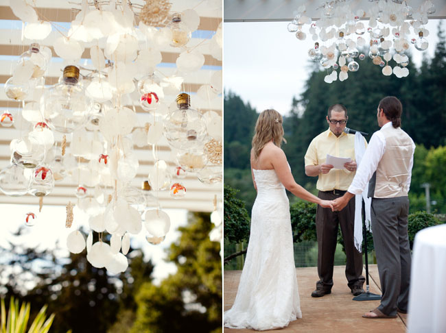 DIY wedding on a budget - ceremony