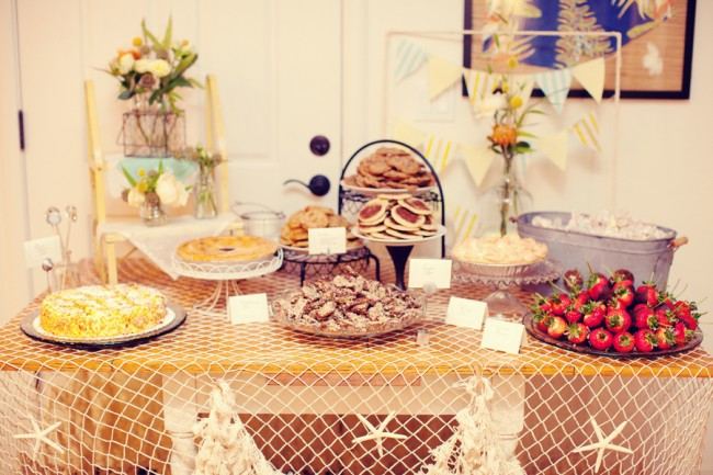 DIY budget wedding dessert table