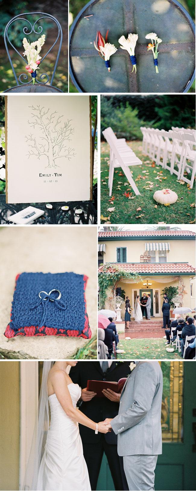 Fall wedding in California - The French Estate Wedding Venue