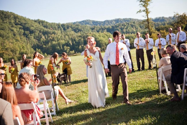Affordable Country Wedding Ceremony