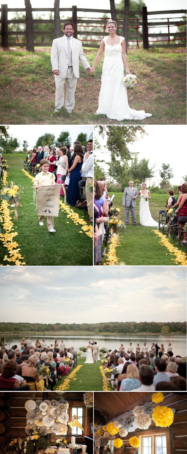 Tulsa DIY Wedding Ceremony