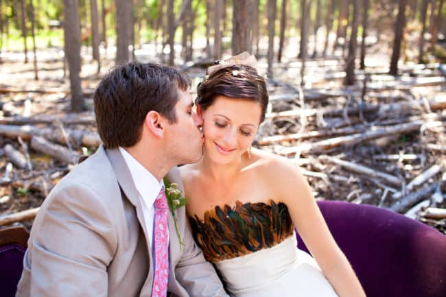 Canada Cabin in the Woods Wedding (9)