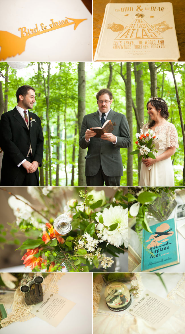 Rustic Woodsy Wedding