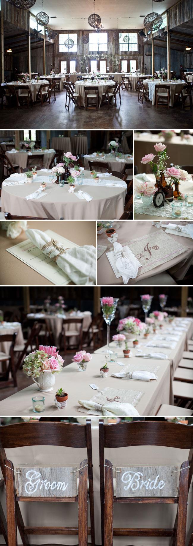 Elegant and Rustic Wedding