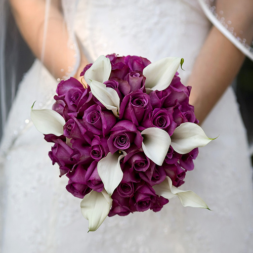 How To Make A Bridal Bouquet Fuchsia And White