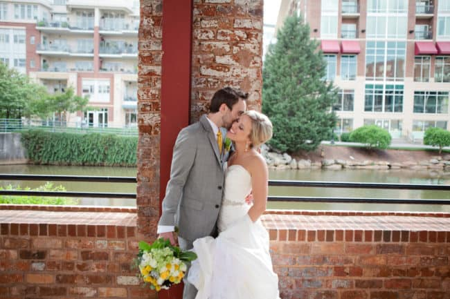 Yellow and gray wedding in Greenville (1)