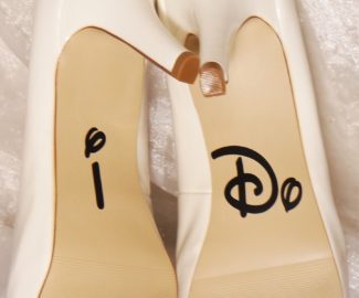 I-do shoe decal for wedding