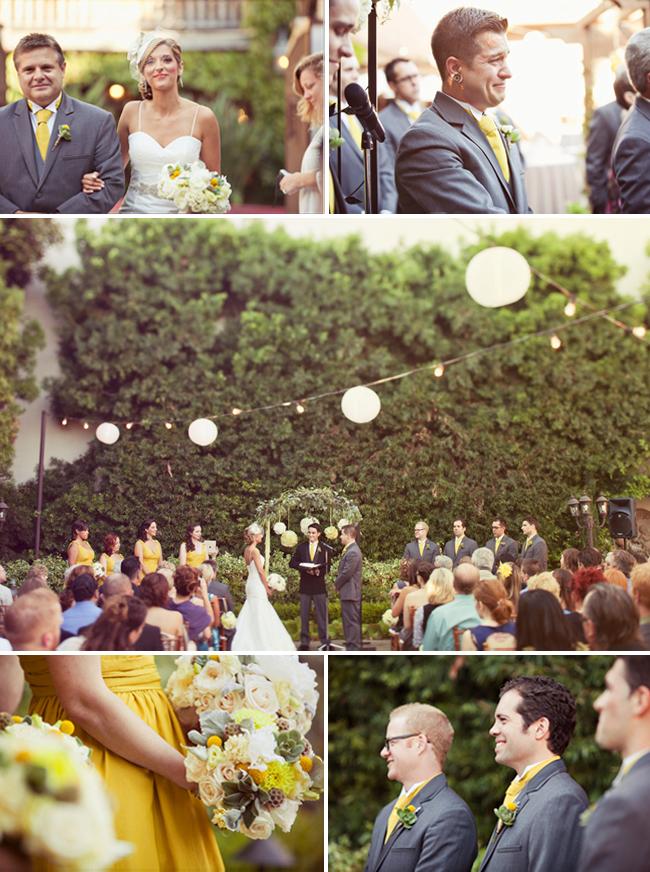 wedding at Fransiscan Gardens