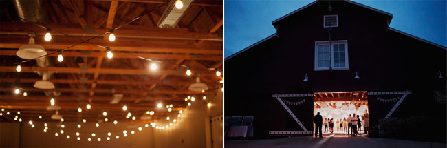 barn wedding at Strawberry Farms Golf Club venue