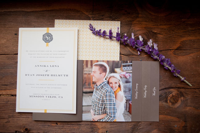 Wedding Invitation and Minibook Program